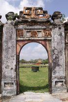 Gate in der Citadel von Hue (Vietnam)