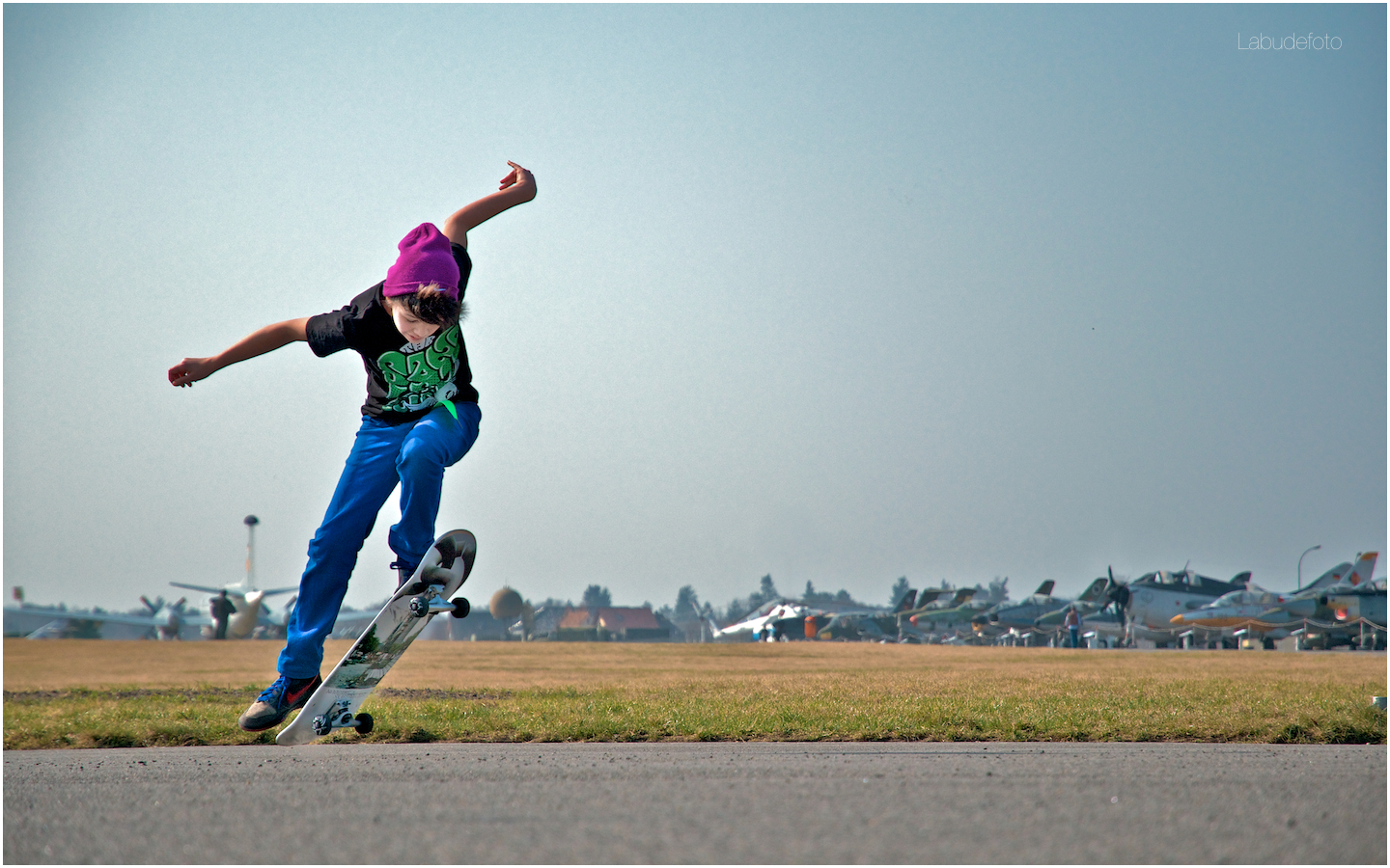 Gatow Airfield. Skate more.