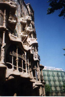 Gaudi-Bauwerk in Barcelona