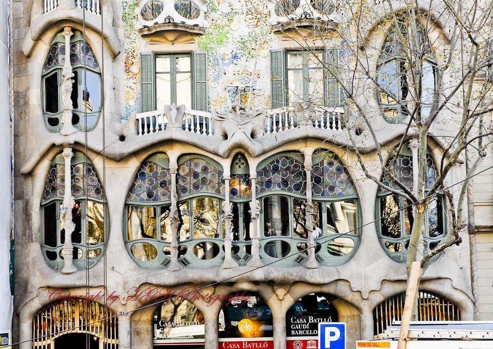 Gaudi Haus Foto & Bild