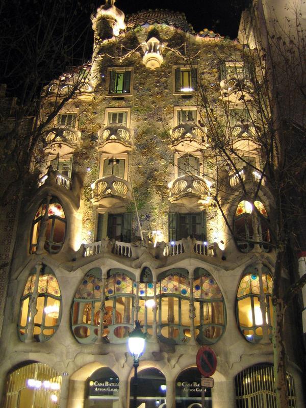 Gaudi Haus in Barcelona Foto & Bild
