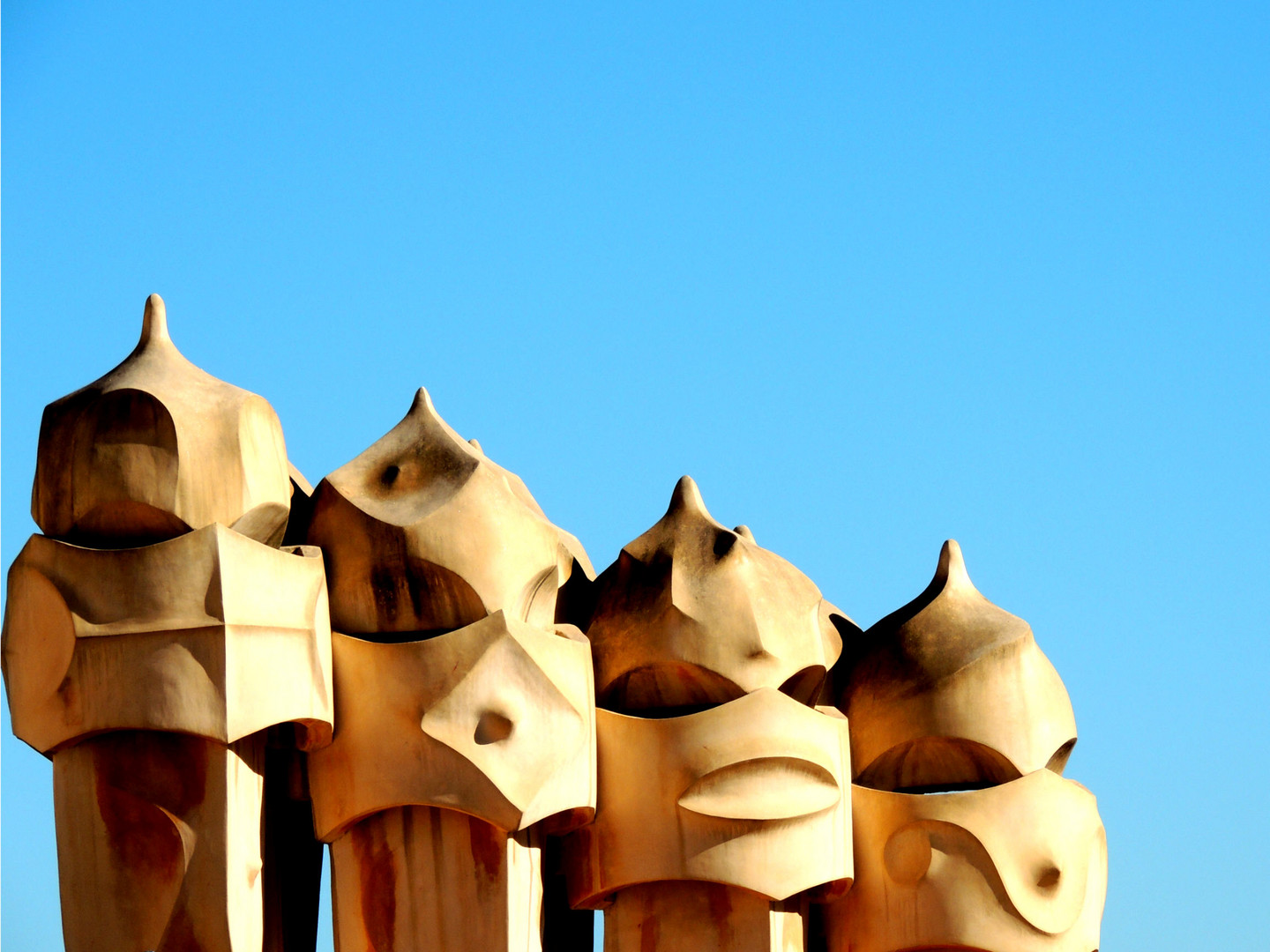 Gaudi on the Roof