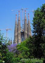 Gaudi's unfinished Sagrada Familia