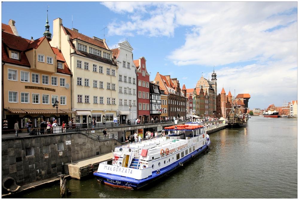 Gdansk, der alter Hafen