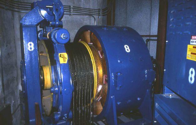 Gearless Winding Machine -In The CNN Tower -in Toronto