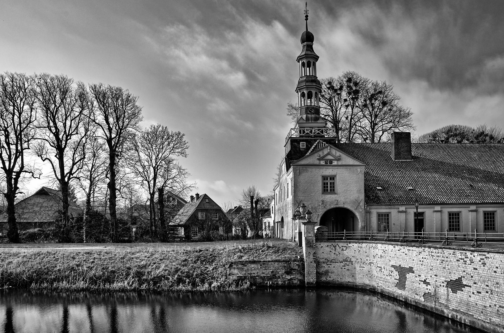 Gebäude beim Schloss in Dornum