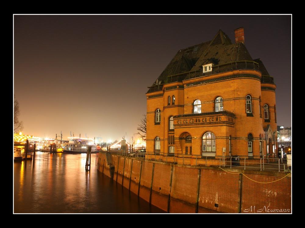 Gebäude der Hafenpolizei