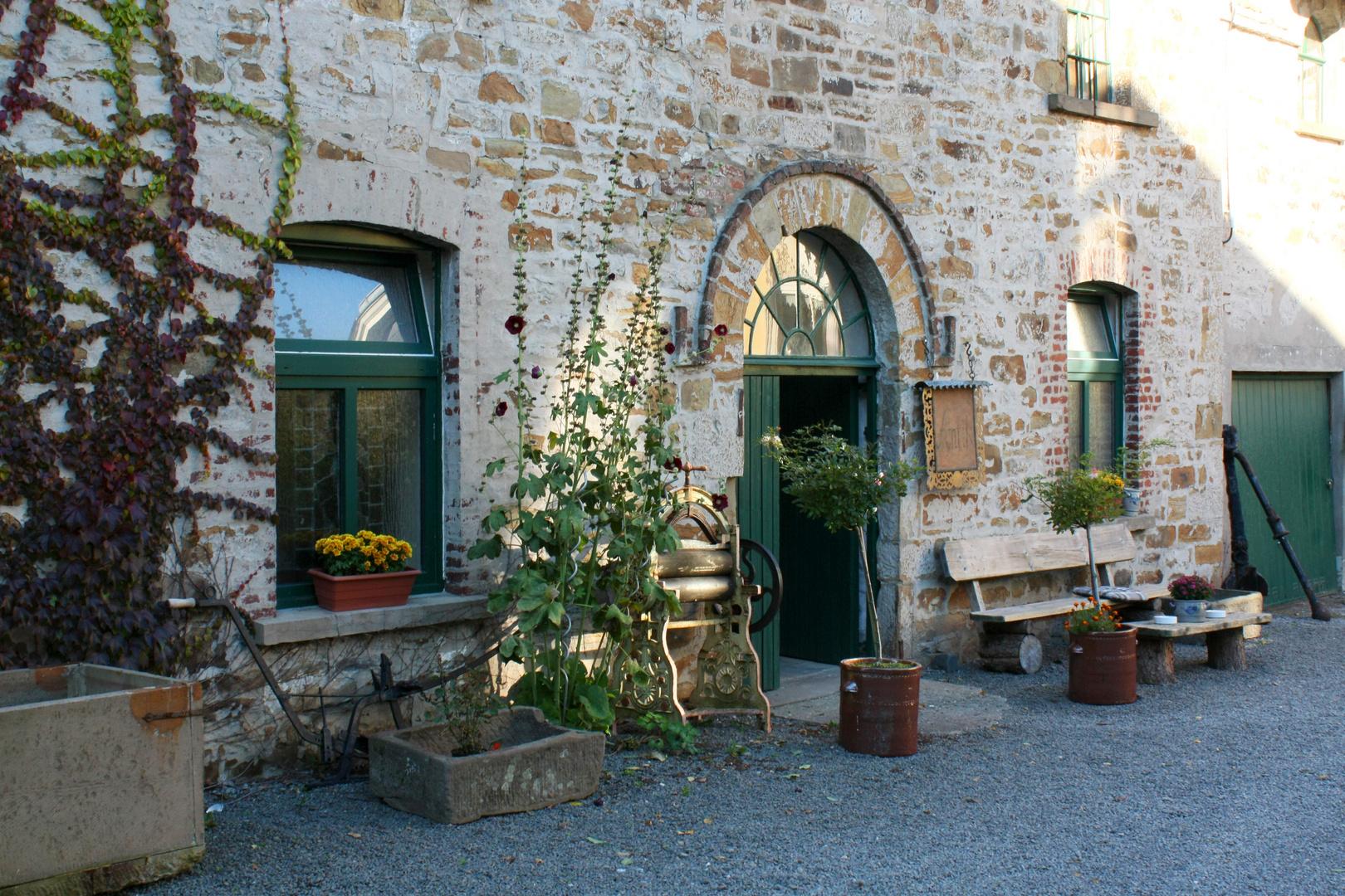 Gebäude einer alten Kornbrennerei