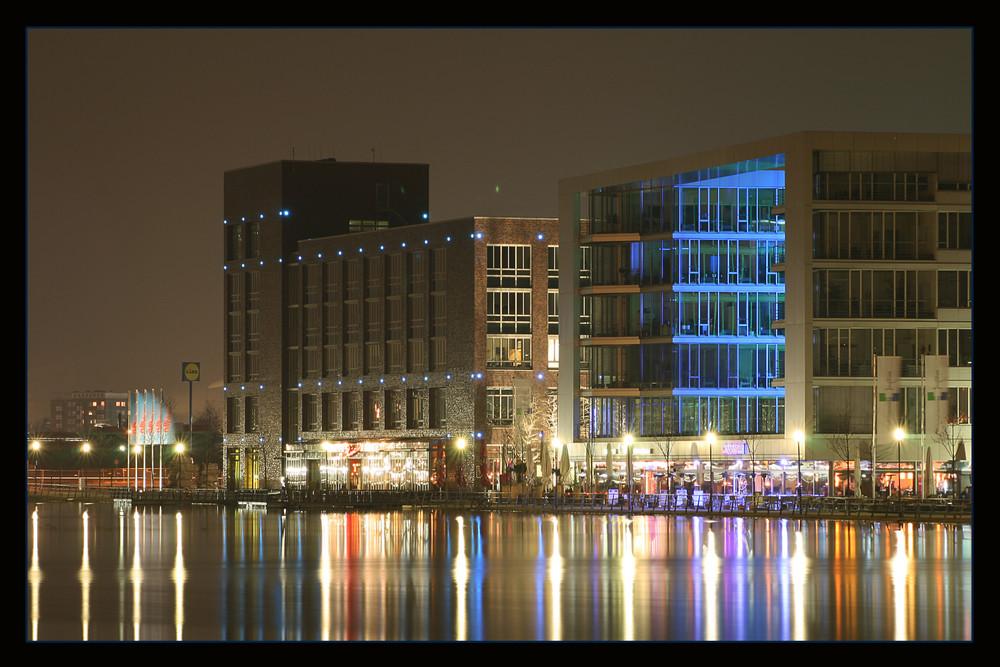 Gebäude im Duisburger Hafen