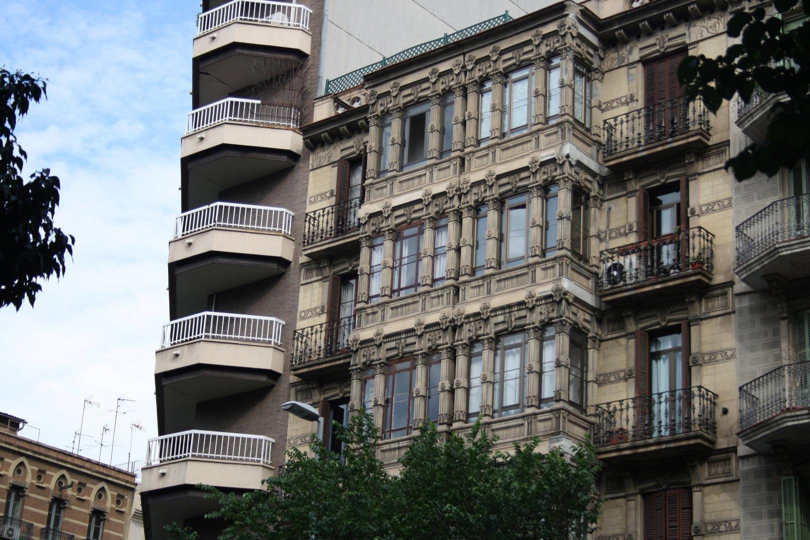 Gebäude in Barcelona