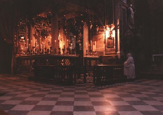 Gebet in Florenz