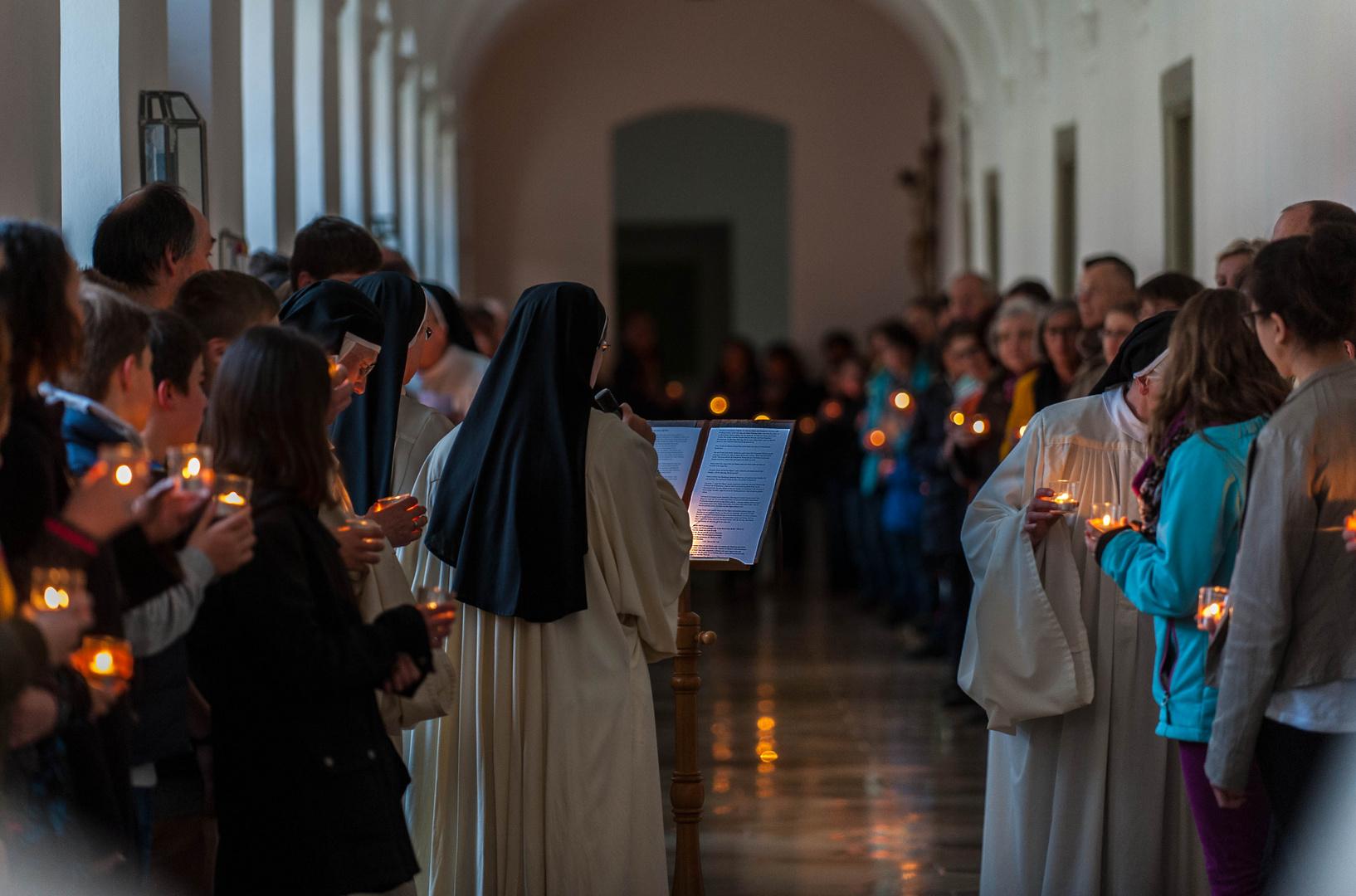 Gebetsvigil in der Abtei Oberschönenfeld