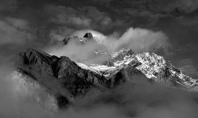 Gebirge (Banff, Canada)