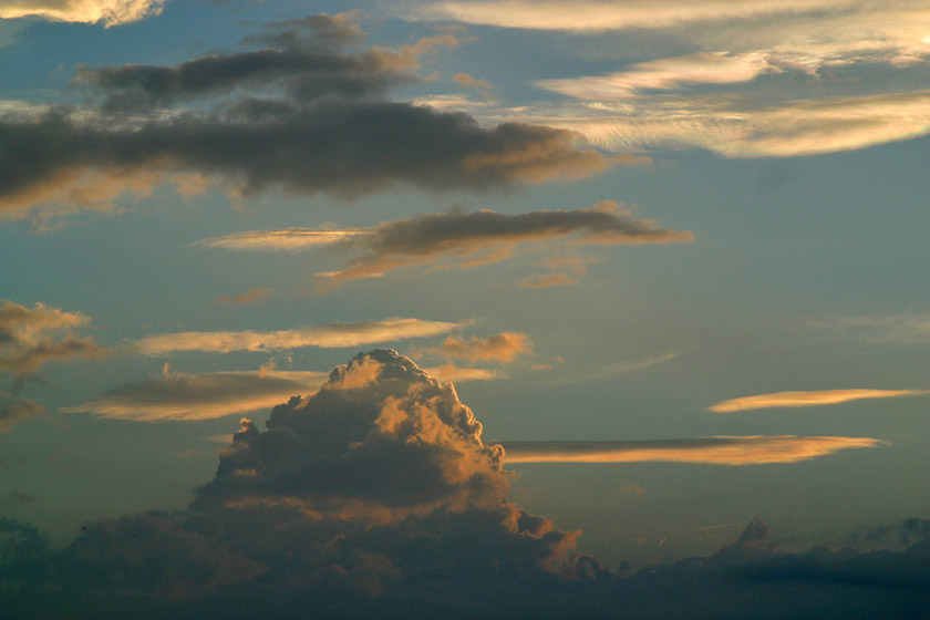 Gebirge - Wolken - Gebirge - Wolken Gebirge