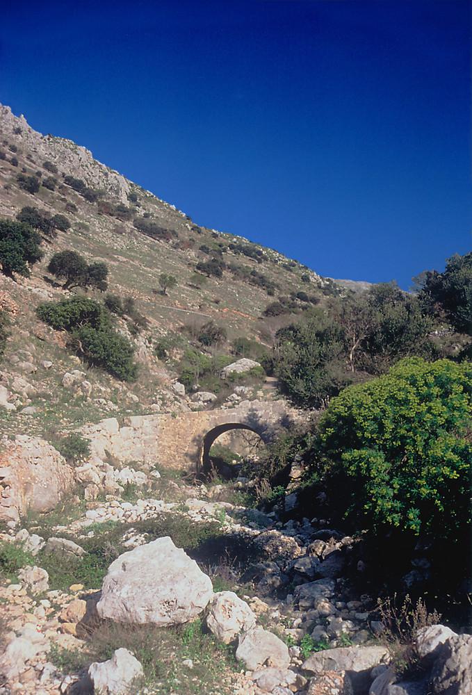 Gebirgsschlucht über Cinisi VII