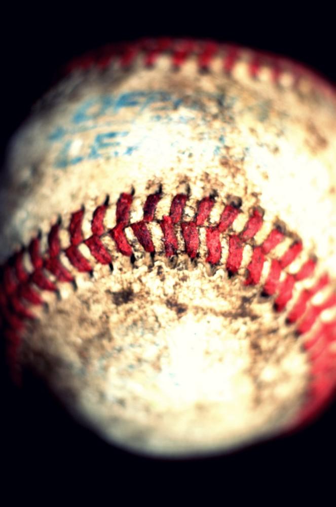 gebrauchter Baseball