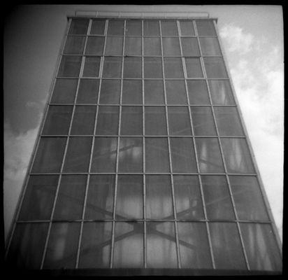 Gebrechliche Fassade.