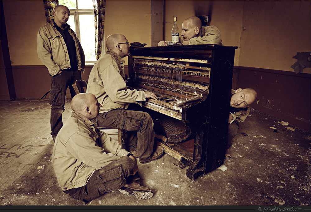 Gebt dem Mann am Klavier....