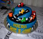 Geburtstag Auto Torte für Enkelkind Sam