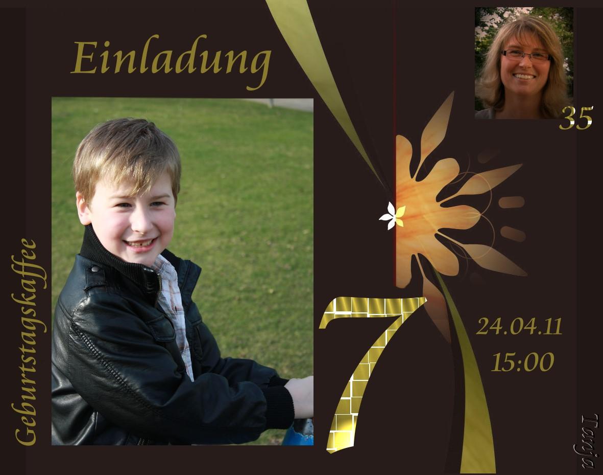 Geburtstagseinladung 2011