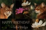 Geburtstagsgrüße für Helga