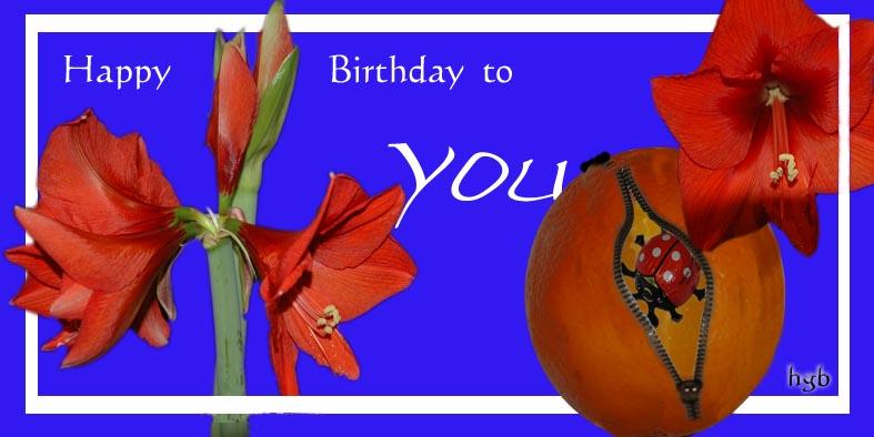 Geburtstagskarte 2009