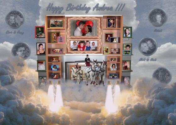 Geburtstagskollage - Klappe - Die Zweite
