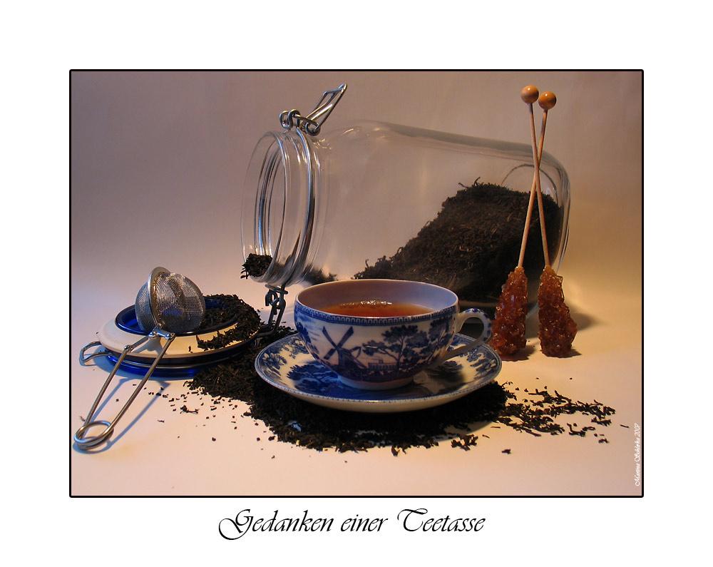Gedanken einer Teetasse
