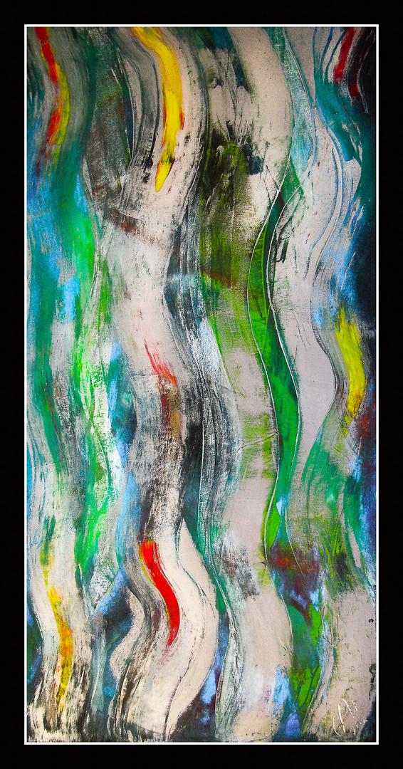 Gedankenfluss (Ölmalerei)