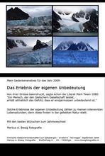 Gedankenimpuls zum Jahreswechsel 2008 – 2009 von Markus A. Bissig