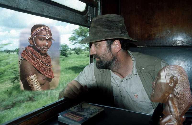 Gedankenspiele Jones  Zugfahrt Dar Es Salaam - Lusaka