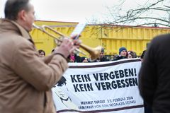 Gedenken an NSU-Opfer Mehmet Turgut in Rostock