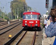 Gedränge am Bahnsteig in Eidelstedt