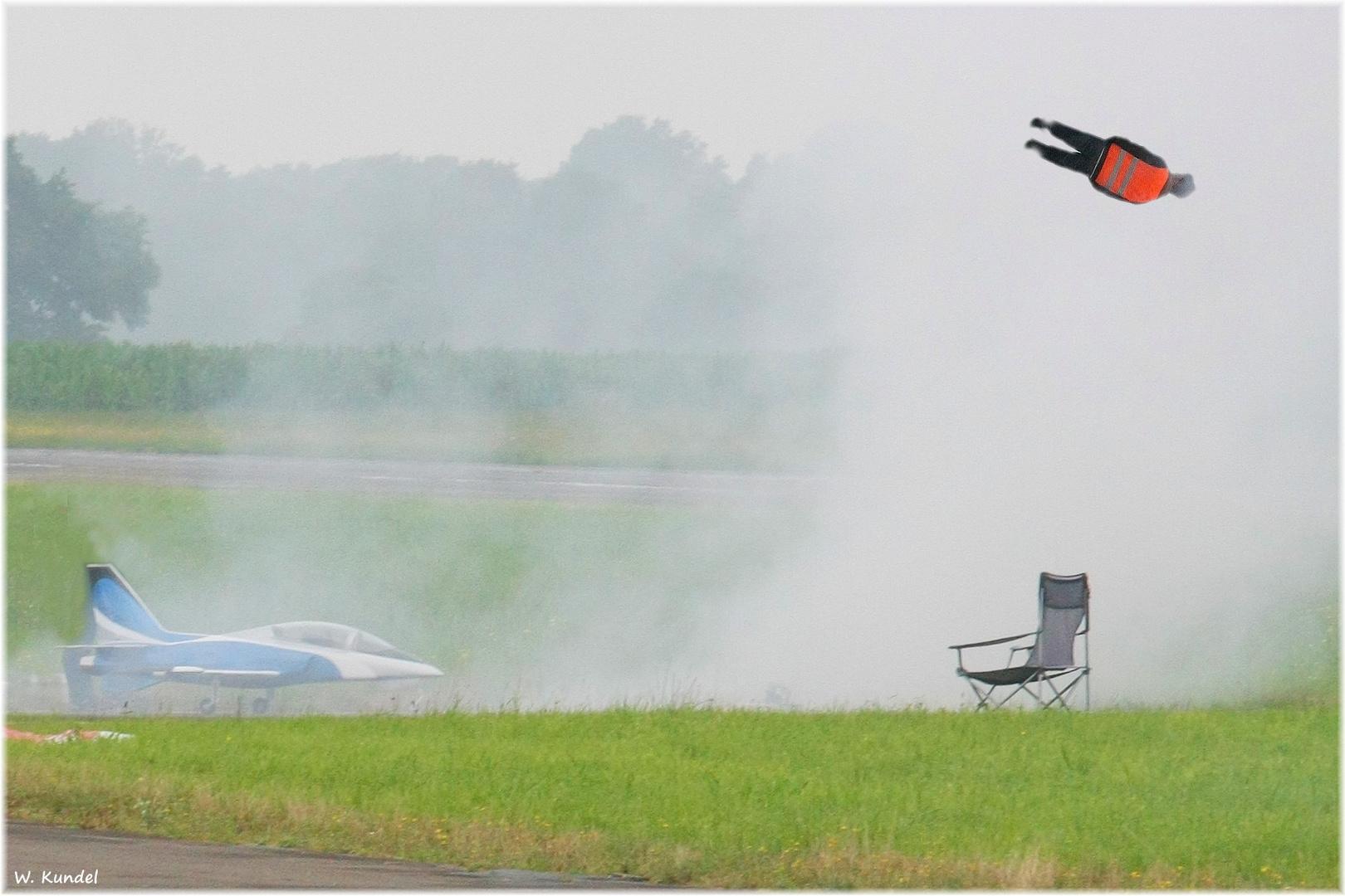 Gefährlicher Modellflug