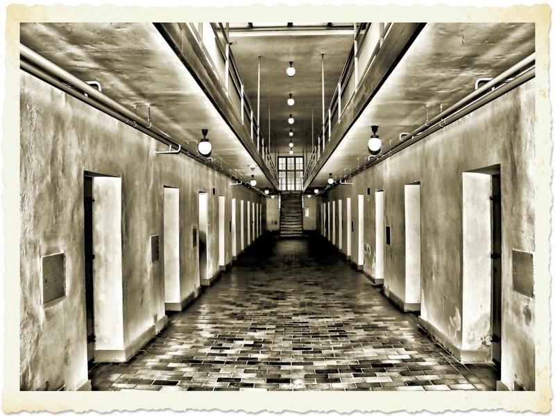 Gefängnistrack im Konzentrationslager Ravensbrück