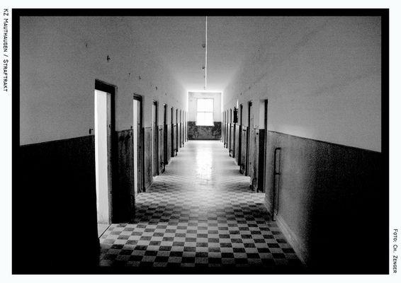 Gefängnistrakt KZ Mauthausen