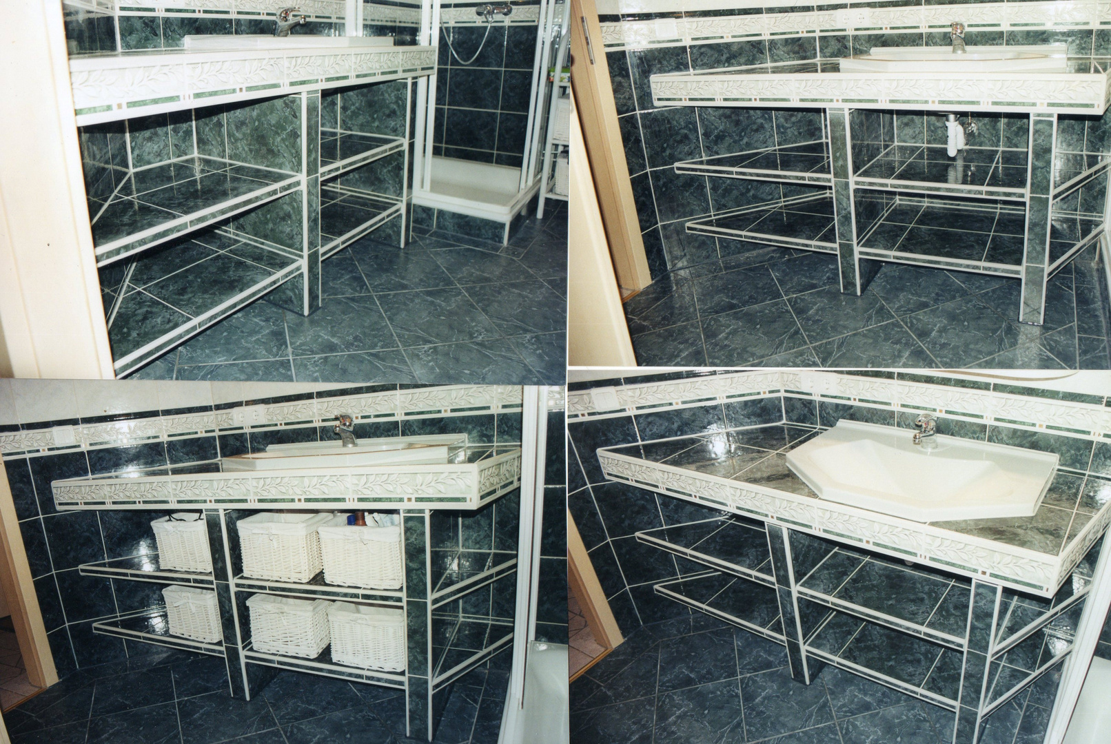 Gefliester Waschtisch gefliester waschtisch foto bild möbel alltagsdesign motive