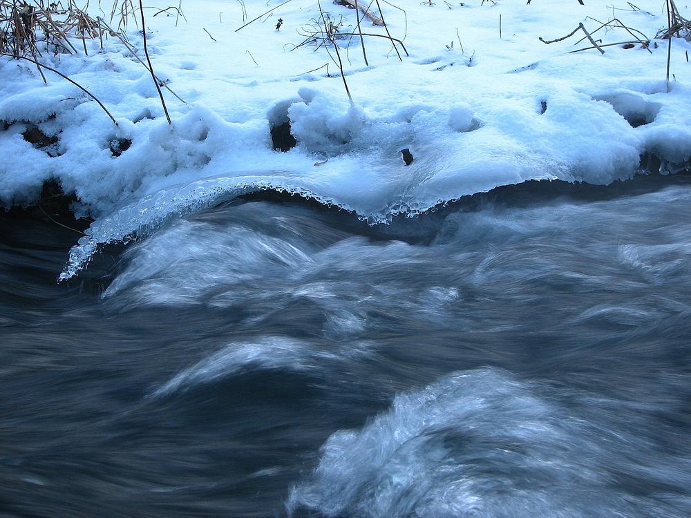 Gefrorene Welle