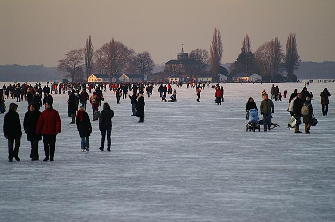 gefrorenes Meer
