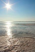 Gefrorenes Watt 05.02.2012