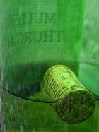gefundene Weinflasche