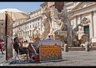 gegen 11 auf dem Piazza Navona