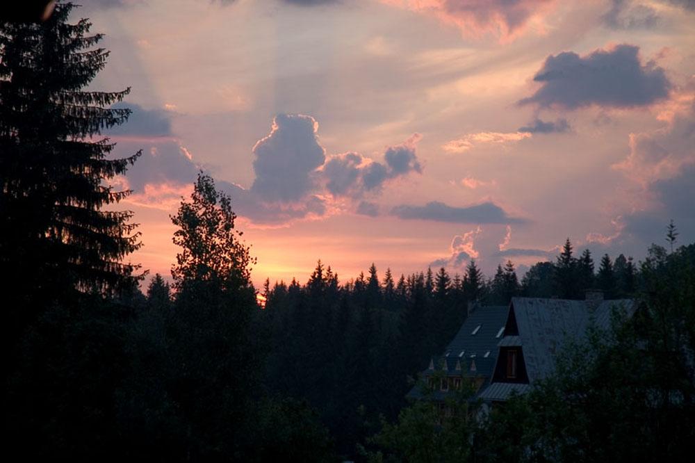 Gegen Abend in Tatra