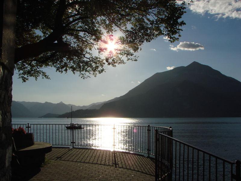 Gegenlicht am Lago di Como