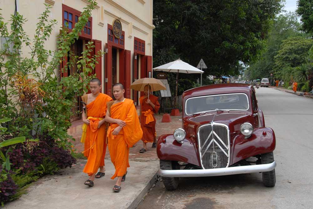 Gegensätze im wunderschönen Luang Prabang