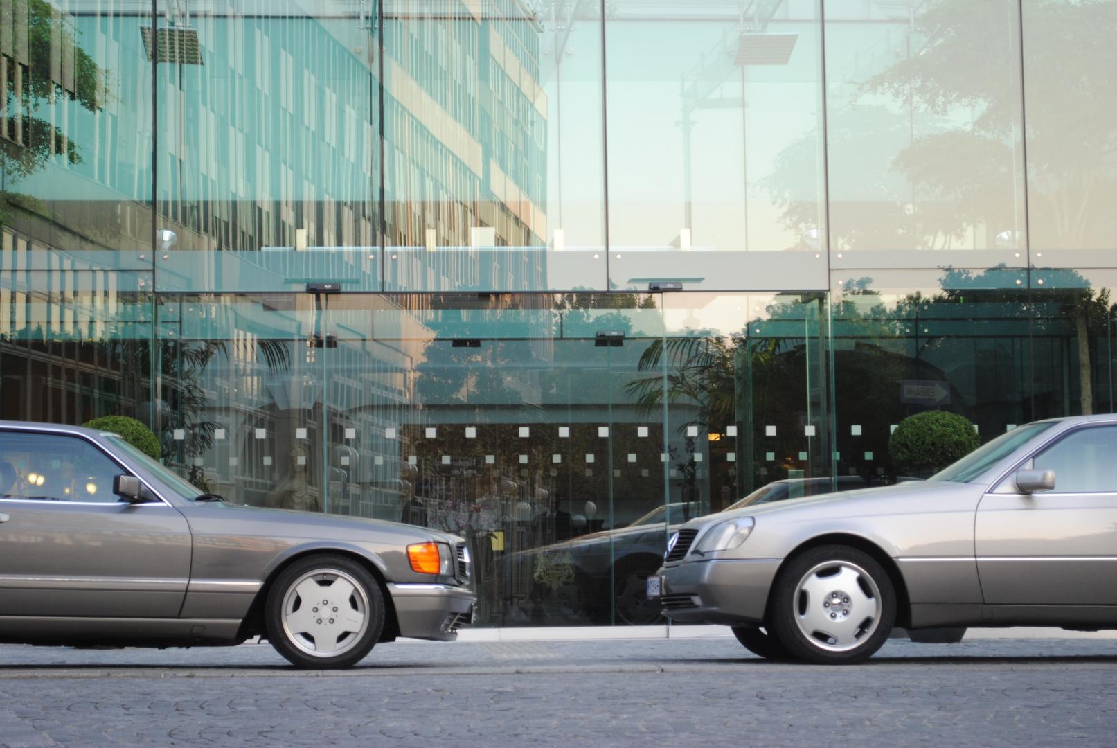 Gegenüberstellung Mercedes Coupes
