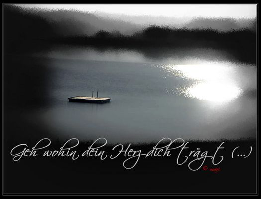 Geh wohin dein Herz dich trägt