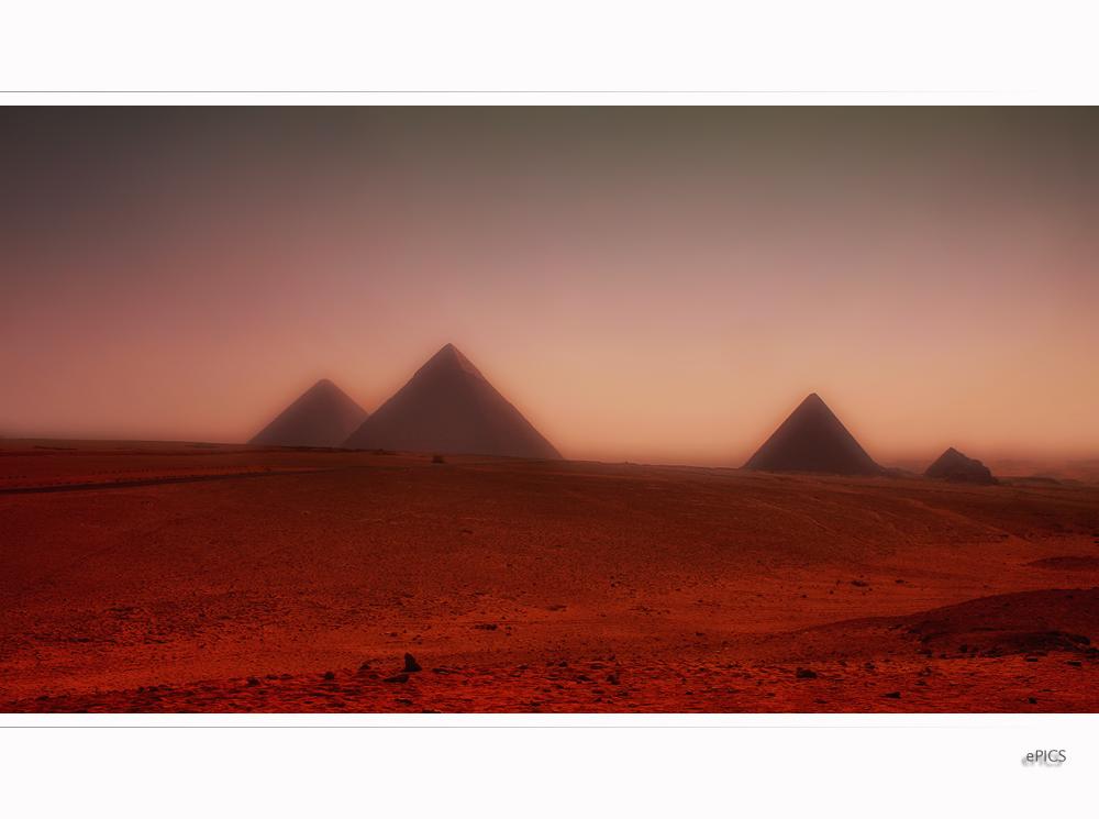 Geheimnisvolles Land der Pyramiden