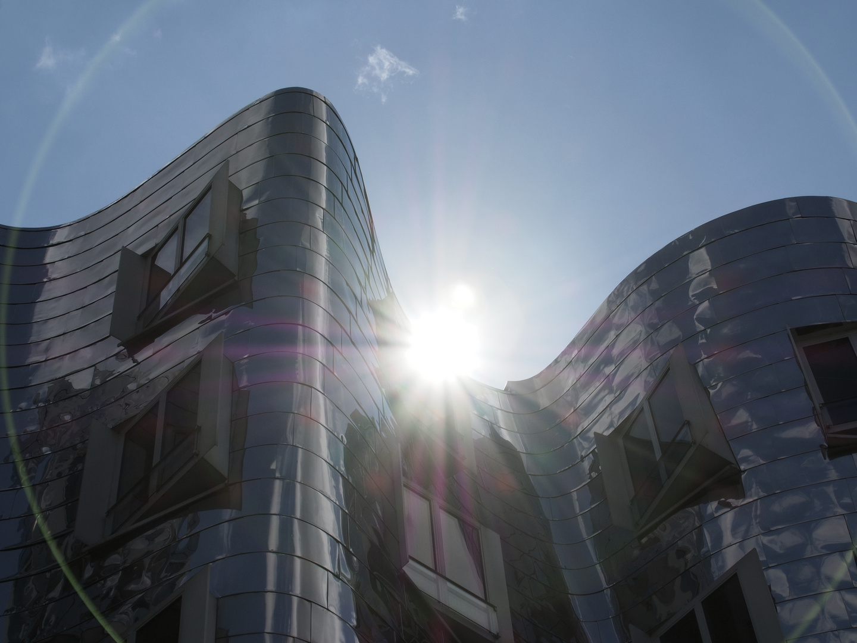 Gehry - Bauten Düsseldorf Medienhafen