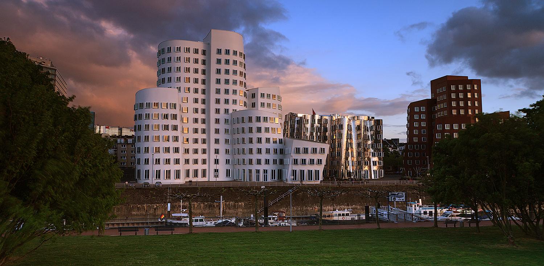 Gehry Bauten in Düsseldorf